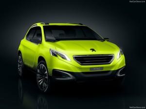 Peugeot 2008 koncept